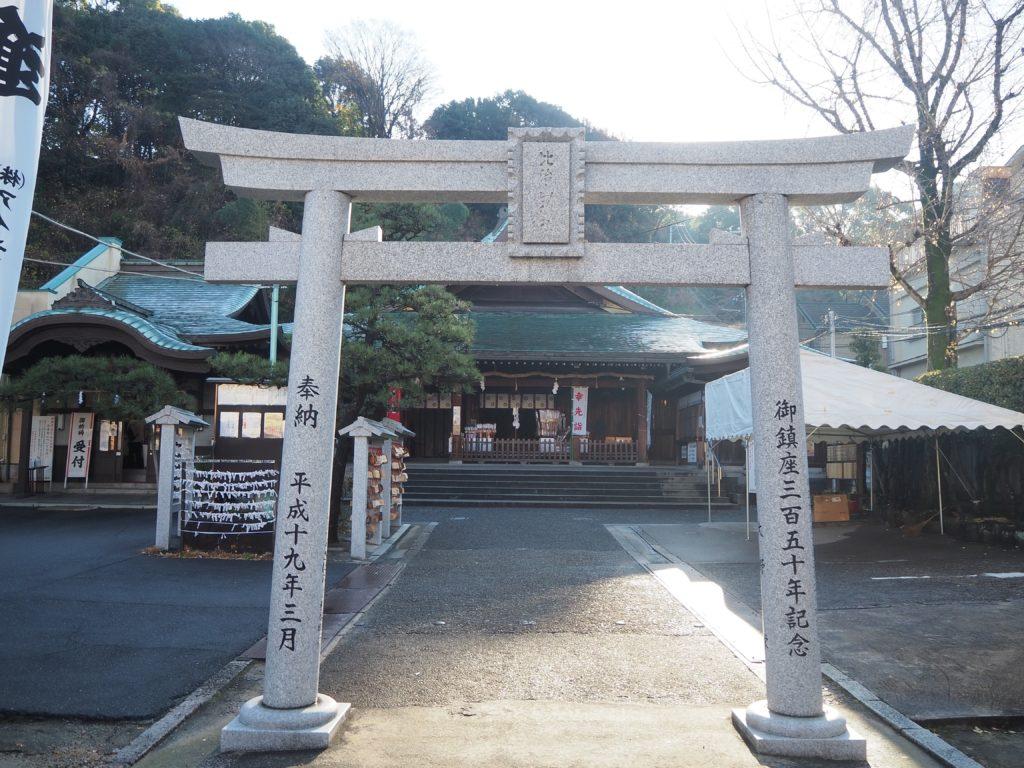 鳥居(比治山神社)